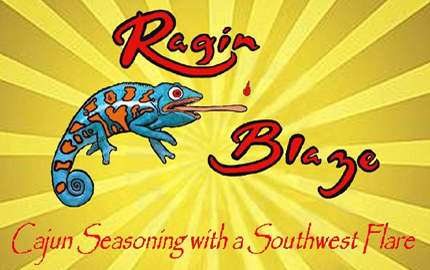 Ragin Blaze Cajun Seasonings with a Southwest Flare - Schrimp, Crawfish, Crab, Fajita and Chili seasonings